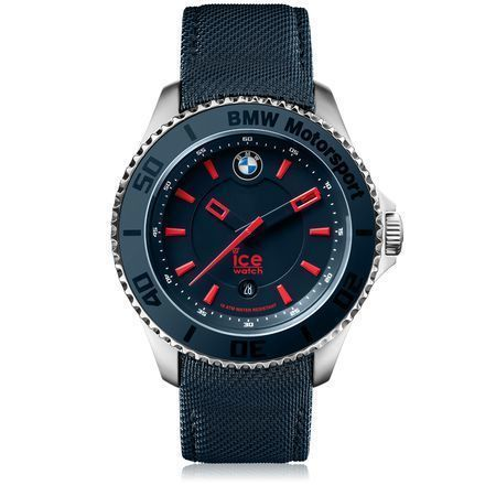 BMW Motorsport Steel Grande personnalisable Bleu Rouge