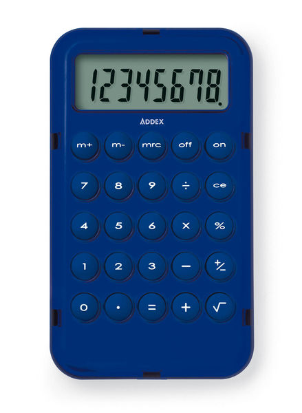 Calcupocket Bleu