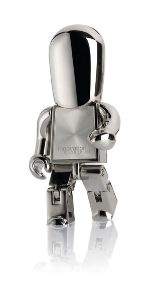 METAL USB PEOPLE Argent