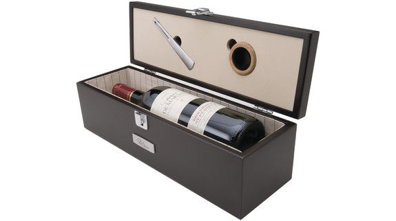Coffret à  vin Marron