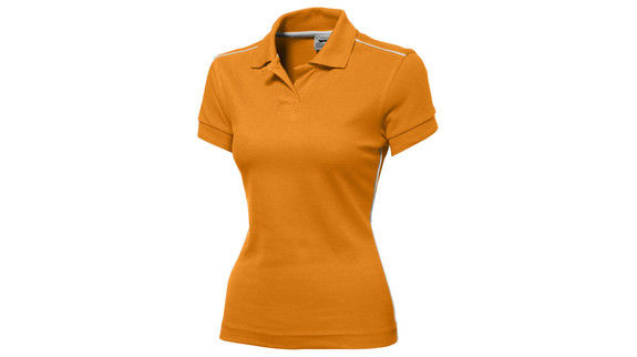 Backhand femme Orange Blanc