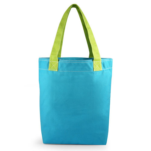 Hand bag SO FUN Bleu Vert
