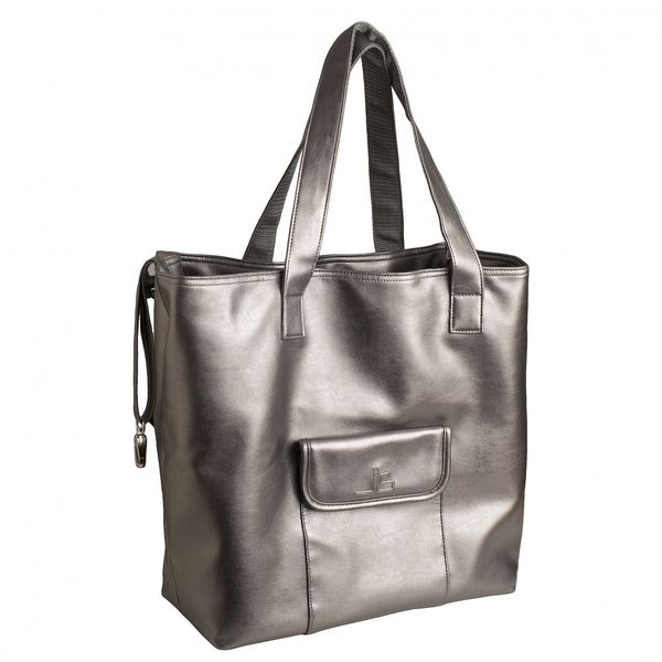 Sac shopping Tapage Argent