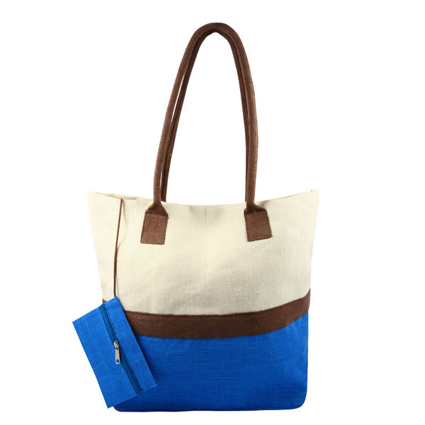 Sac shopping JULPI Bleu
