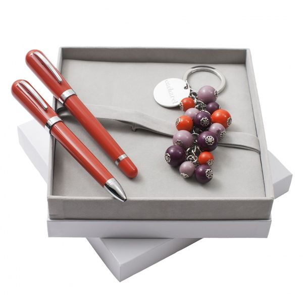 Set CACHAREL : Porte-clef + Stylo + CSN1574