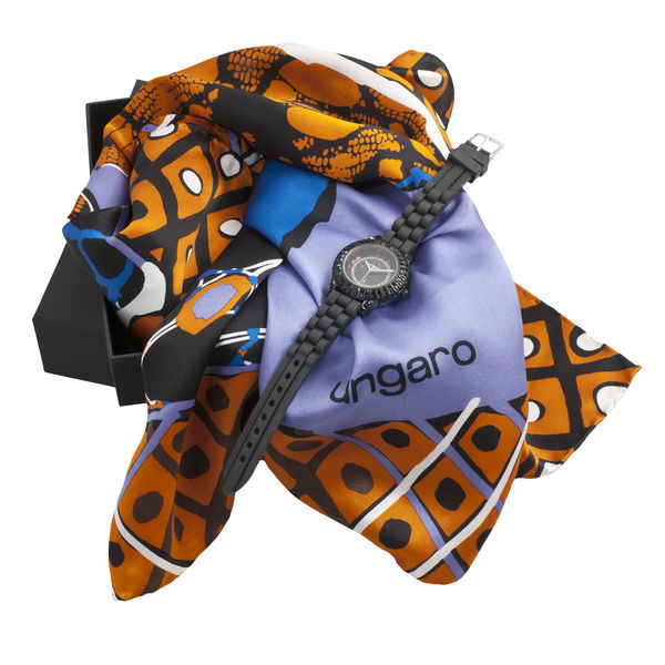 Set UNGARO : Foulard + Montre