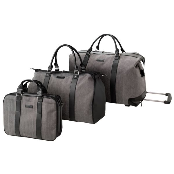 Set UNGARO : Sac + Porte-documents + Trolley